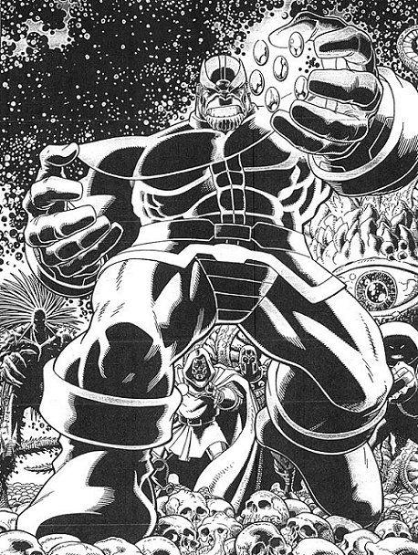 Thanos by Art Adams