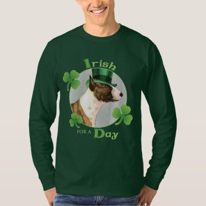St. Patrick's Day Mini Bull Terrier T-Shirt - saint patricks day st patricks holiday ireland irsih special party