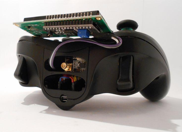 RCXbox24 es un mando Radio Control con base Arduino NANO NRF2401 y pantalla LCD i2C