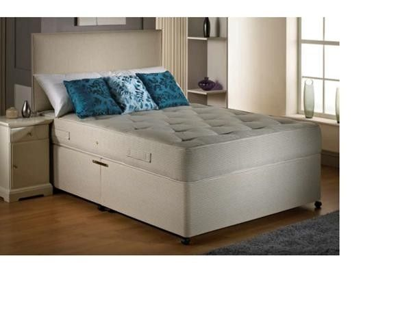 "2ft 6"" Opal Small Single Divan Bed"