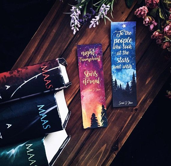A Court Of Thorns And Roses Bookmarks Six Of Crows Acotar Acomaf