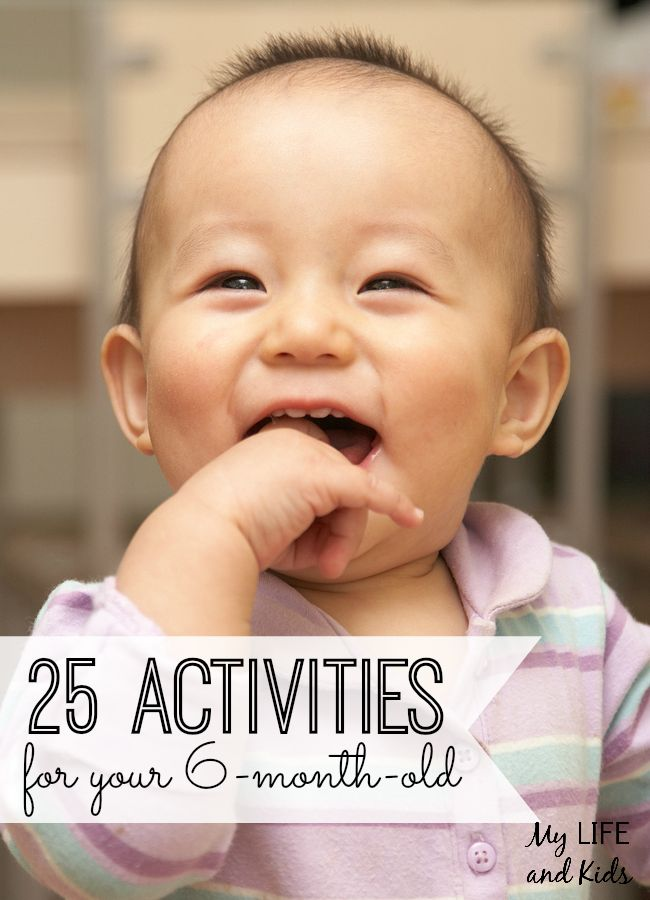Enjoy these 25 amazing activities to do with your six-month-old! Even if your little one isn't very mobile yet, there are so many activities to do with your 6-month-old! Here are 25 of our favorites!