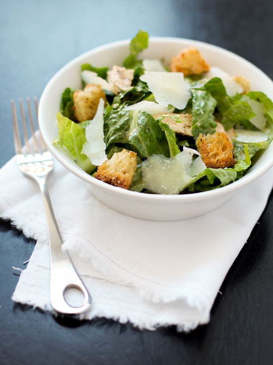 I'm sure Caesar salad is a staple in most households. However, I'm sure most of the time it involves a bottle of dressing and a bag of croutons. Not that there's anything wrong with that, but it's just not our style. Rather, we've found the perfect (easy, and salmonella-free) recipe for a Caesar dressing from scratch. It's as creamy or creamier than anything you can find in a jar, and bonus! You know exactly what did (or didn't) go into it. Didn't use up all th...