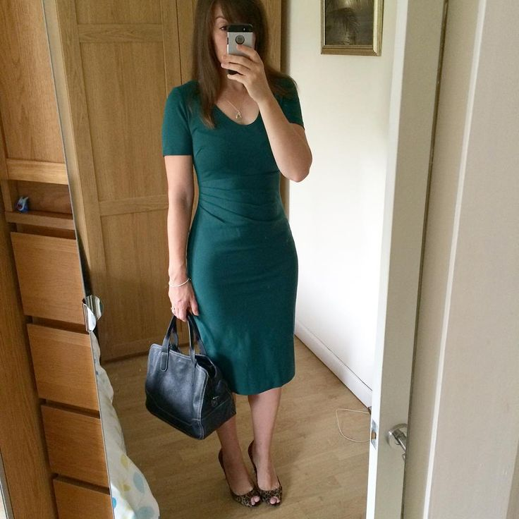 Got loads of Boden vouchers for my birthday. Bought a new dress 💃🏻👗💚 #ootd #bodenbyme #bodenclothing #workwear #workclothes #officewear #officeclothes #zara #wiw #whatiwore #whatimwearing #greendress #newdress