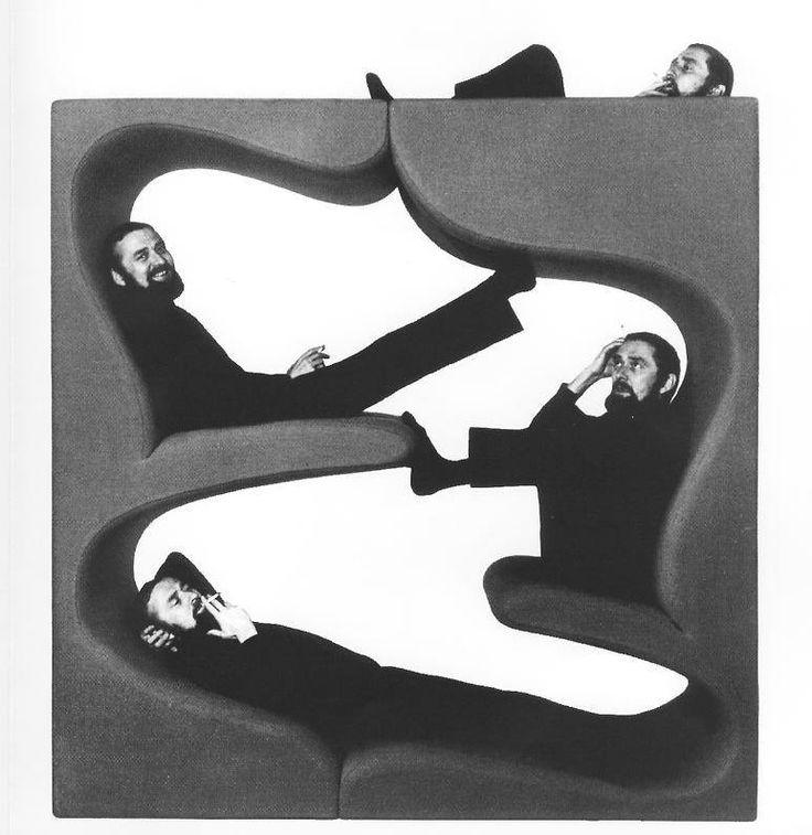 Verner Panton, Living Tower, 1968