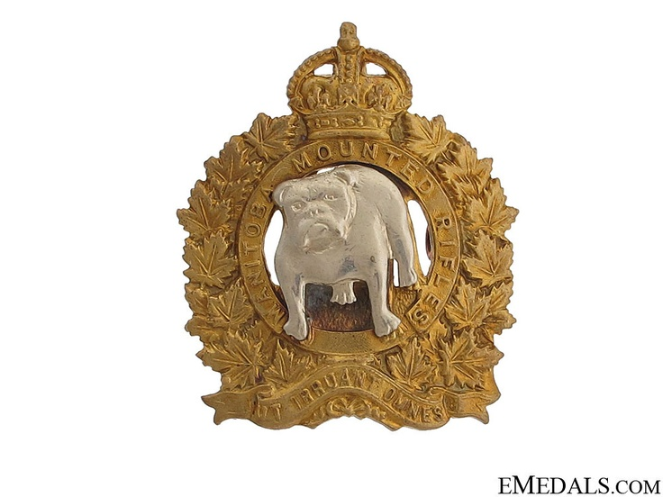 Manitoba Mounted Rifles Officer Cap Badge | eMedals