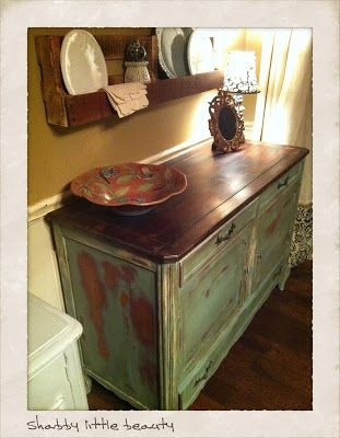 Waxing Your Furniture - Vintage Charm Restored