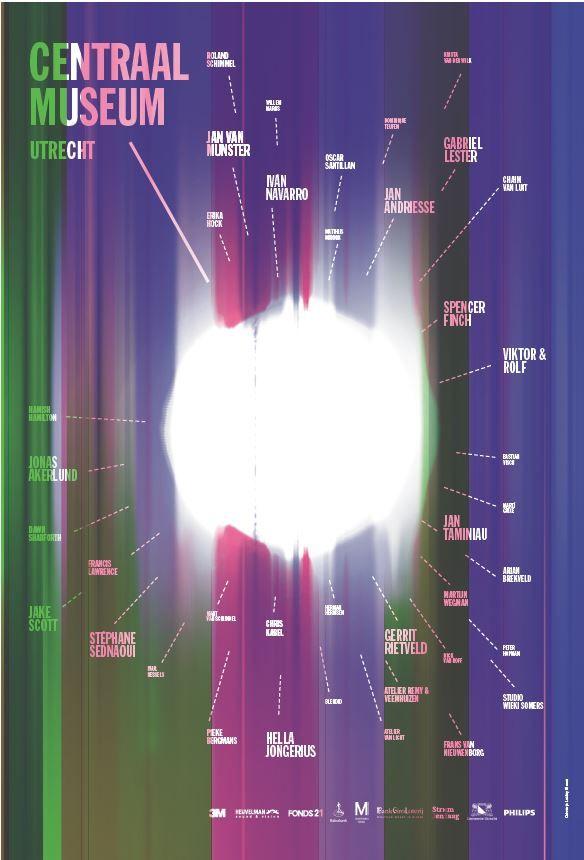 Affiche Tentoonstelling Lekker Licht