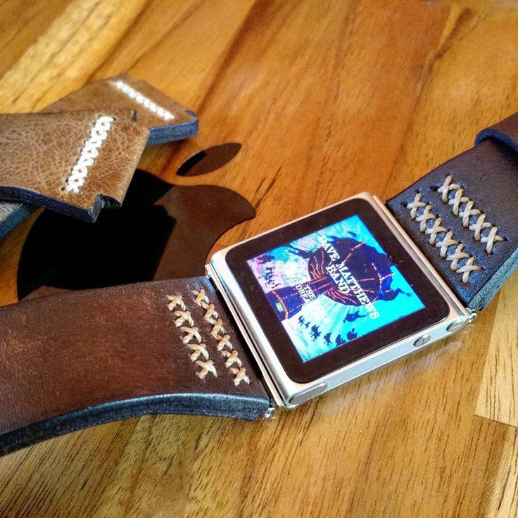 #applewatch  #apple  #ipodnano6  #ipodnano  #leatherstrap  #leather  #handmade  #manstyle  #davematthewsband
