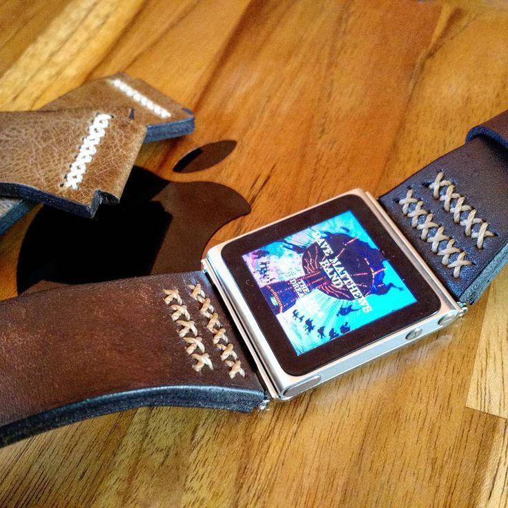 #applewatch  #apple  #ipodnano6  #ipodnano  #leatherstrap  #leather  #handmade  #manstyle  #davematthewsband