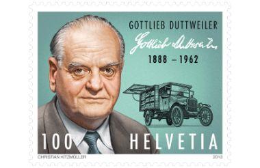 Briefmarke Gottlieb Duttweiler