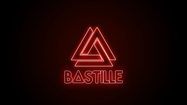 Bastille- neon lights  I made it in Photoshop