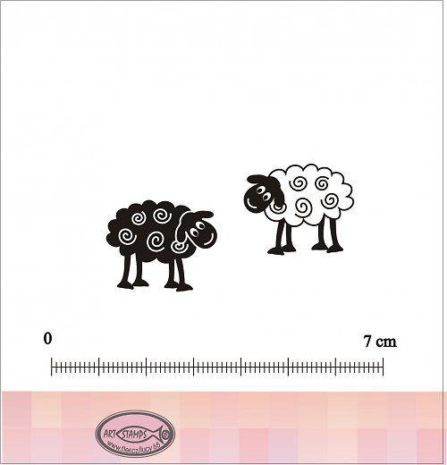 Razítka ovečky - která jsi ty? :-)