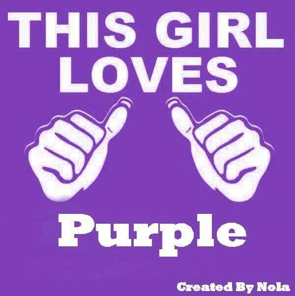 Love purple                                                                                                                                                                                 More