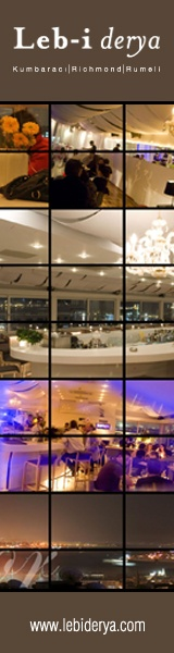 Lebiderya, a stunning restaurant on a rooftop in Istanbul with view to the East and the West.