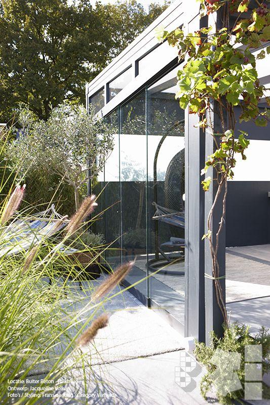 60 beste afbeeldingen van portfolio binnen buitentuin met vtwonen buitentegels - Buitentuin ontwerp ...