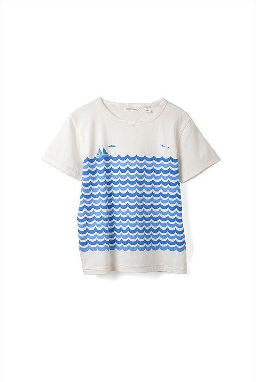 Wave Stripe T-Shirt
