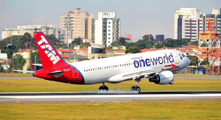 A320 Tam Airlines One World Livery