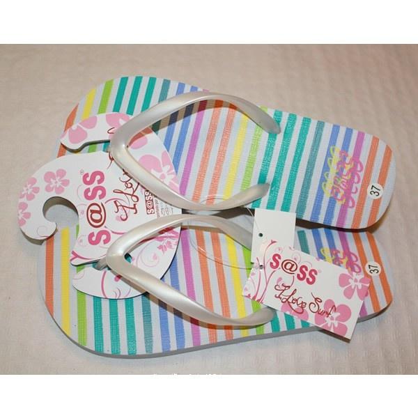 Chanclas / Sandalias de Playa para Mujer a Rayas Multicolor. http://www.inofertas.es/chanclas-mujer/103-chanclas-multicolor.html