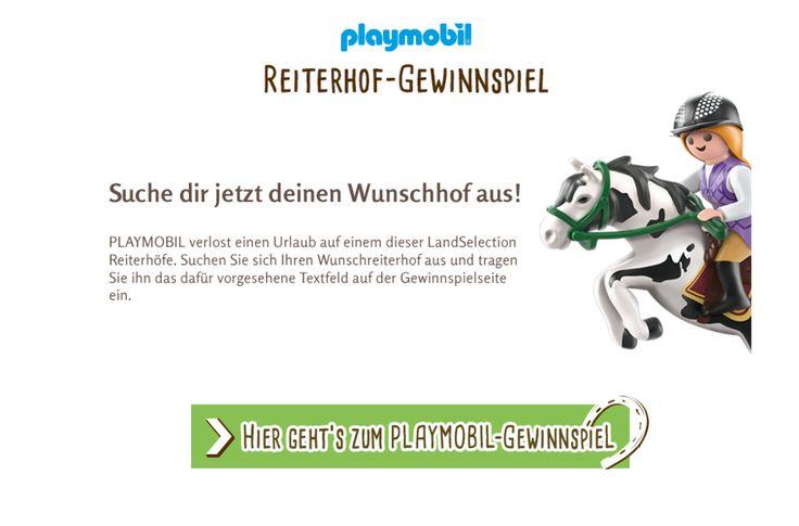 Gewinnspiel Playmobil - LandReise.de