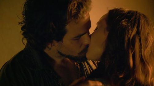Aramis and queen Anne