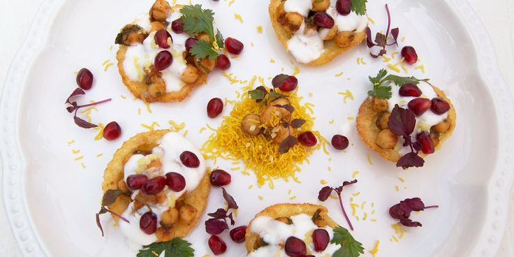 This Indian street food recipe, Papdi Chaat, is the perfect side to add to a meal. Chef Alfred Prasad creates a dish full of flavour to serve alongside almost anything.
