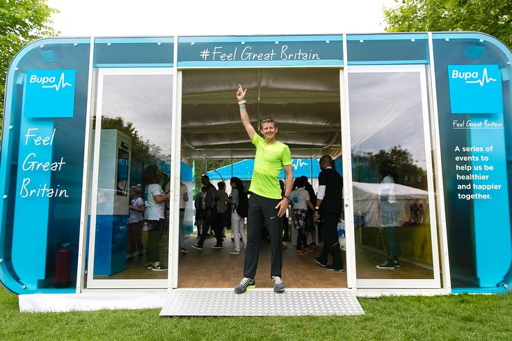 6m AirClad Expo BUPA Electric Run. And Steve Cram.