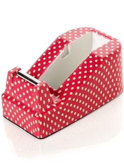 polka dot tape dispenser