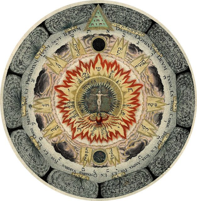 """The Cosmic Rose   - Continental tradition of European alchemy, Heinrich Khunrath. Last year I came across some of the book plates from Khunrath's occult work Ampitheatrum Sapientiae Aeternae (Hamburg, 1595), or """"The Amphitheater of Eternal Knowledge,"""" and was floored by their complexity and beauty."""