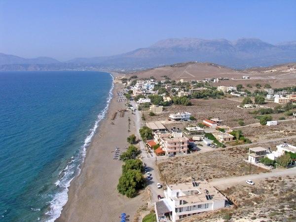 Kalamaki Crete greece
