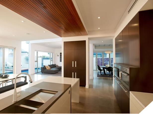 The beautiful kitchen area of our display home