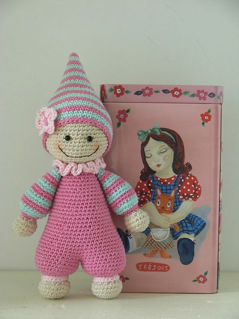 Antoinette06's Cuddly Baby, pattern on ravelry