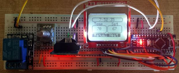 Arduino Programable Thermostat
