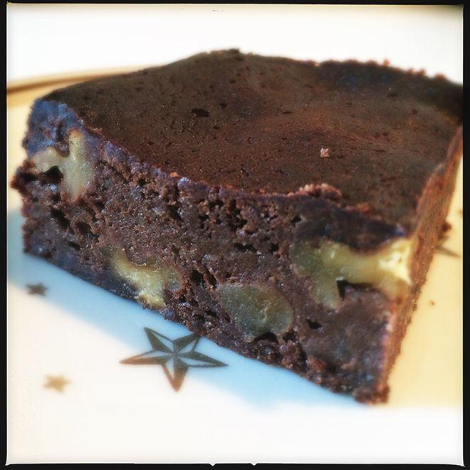 Opskrift på (sunde) fiberrige brownies, uden tilsat sukker - med 387 kalorier pr. 100g