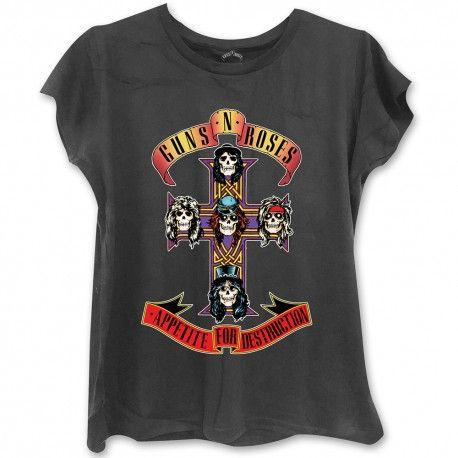 Tricou Fete Guns N' Roses: Appetite For Destruction