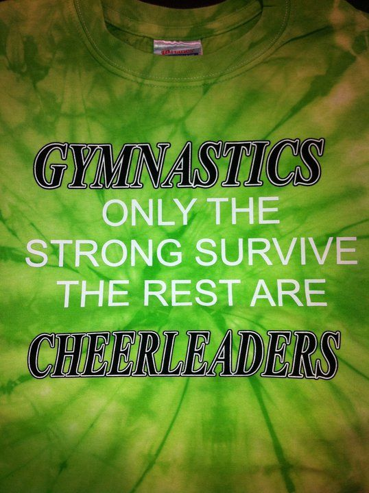 I am a gymnast and I really want this shirt!!!