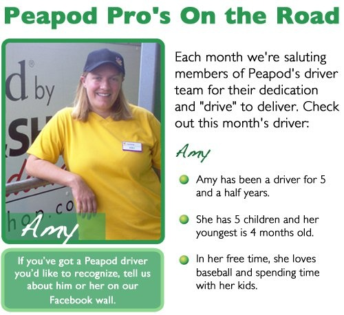 Our October 2010 Peapod Pro – Amy from CT: Seeking Amy, Peapod Pros