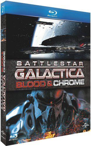 Pointez sur l'image pour zoomer Vous en avez un à vendre ? Vendez-le vous-même Battlestar Galactica : Blood & Chrome | BLU-RAY - NEUF
