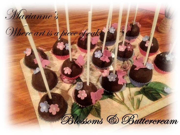 Cake pops have become the new black