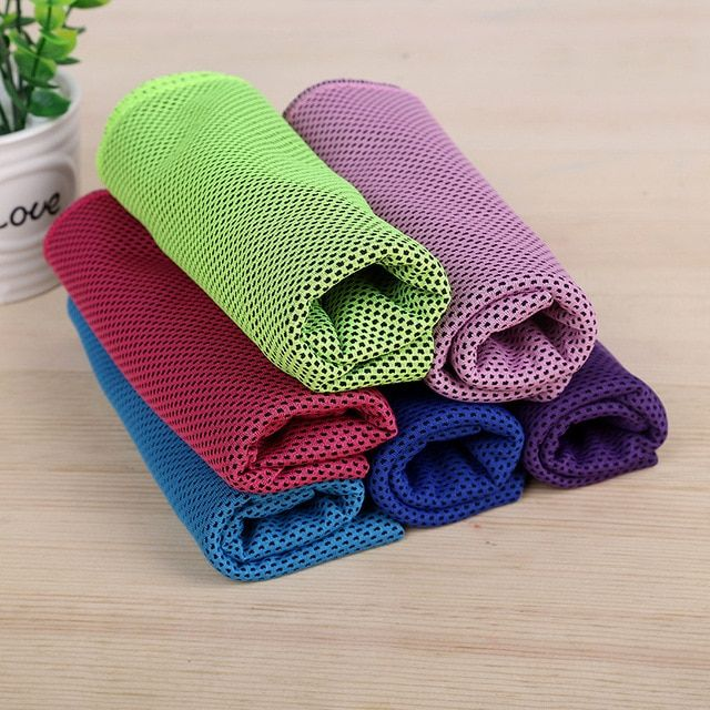 Free Shipping Portable Quick Drying Cool Towel 33x88cm Bluefield Microfibre Cool Towel Outdoor Sports Camping Travel