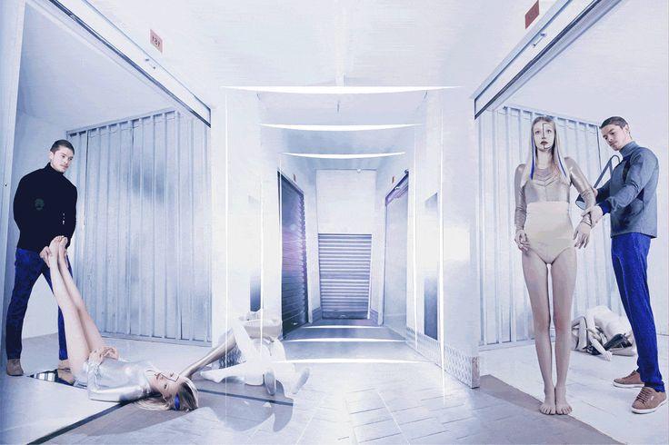 Kottin & Twille Silver Metallic Bodysuit in Gaschette Magazine