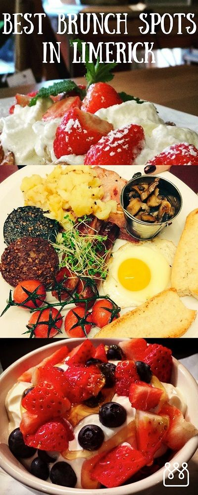 "Best Brunch Spots in Limerick, Ireland. Nothing quite says ""welcome to the weekend!"" like a few Friday evening drinks; but brunch on Sunday morning is the comforting bookend to your weekend that wraps you up in mimosas and French toast."