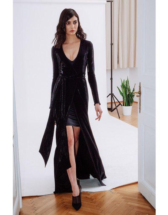 Liquorish wrap dress Lift dress