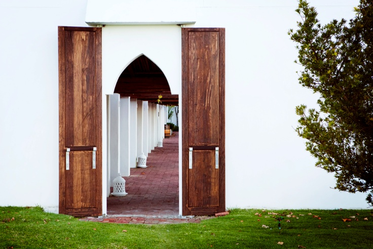 Entrance to the tasting room at Spice Route