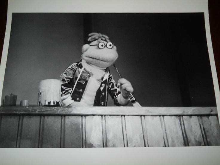 The Muppet Movie-Scooter-The Muppets- B & W 8x10 Photo-MM138