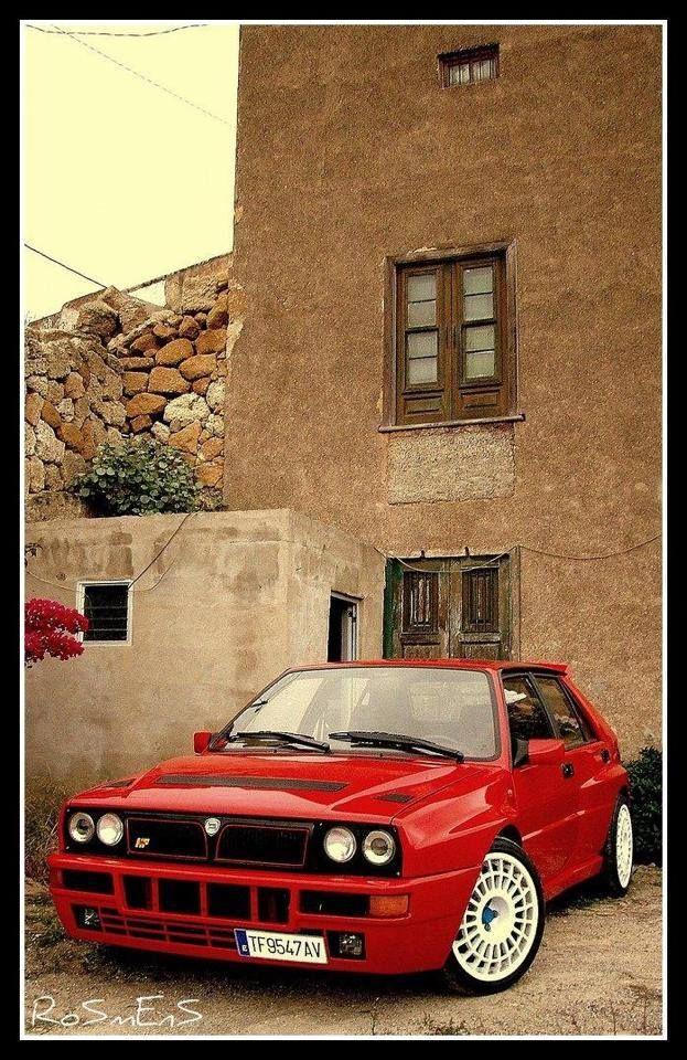 Red Fighter Lancia Delta Integrale
