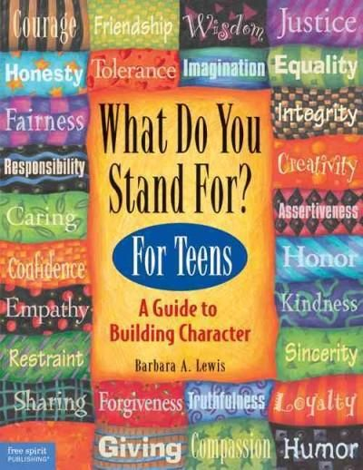 Precision Series What Do You Stand For? for Teens: A Guide to Building Character