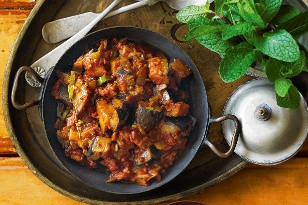 A medley of spices and sweet tomato make this Indian-inspired eggplant chutney delicious.
