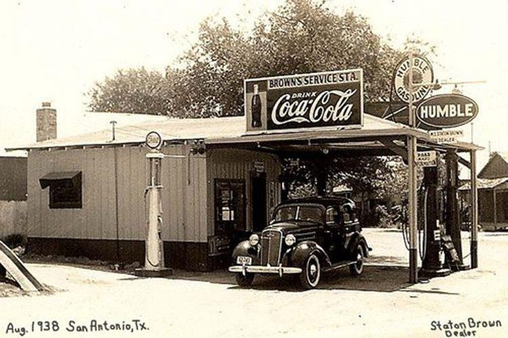 93 Best Images About Vintage Service Stations On Pinterest