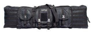Gen-X Double Tactical Rifle Case w/Pack Straps and 3 Outside Pouches